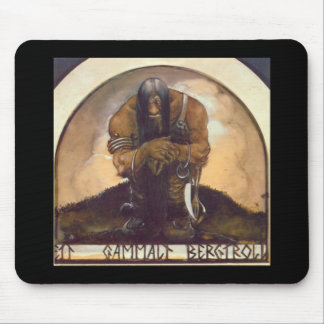 An Old Mountain Troll Mouse Pads