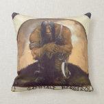 An Old Mountain Troll Pillow