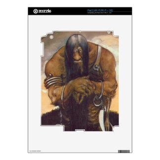 An Old Mountain Troll Decal For iPad 2