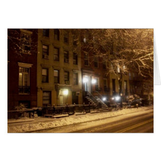 'An Old New York Winter' Holiday Card - Christmas