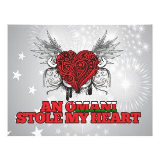 An Omani Stole my Heart Custom Flyer