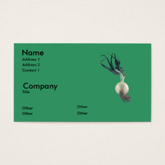 An Onion Business Card