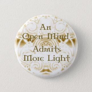An Open Mind Button