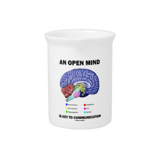An Open Mind Is Key To Communication (Brain) Pitcher