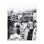 An Operation at Charing Cross Hospital Stretched Canvas Print