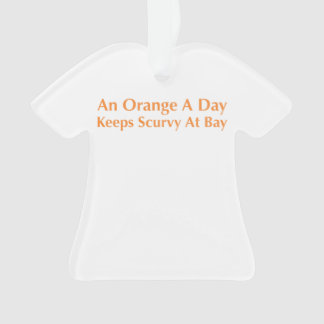 An Orange A Day Keeps Scurvy At Bay
