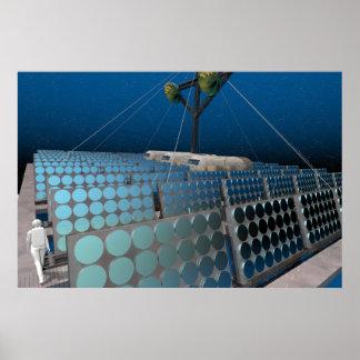 An Orbiting Solar Power Station poster