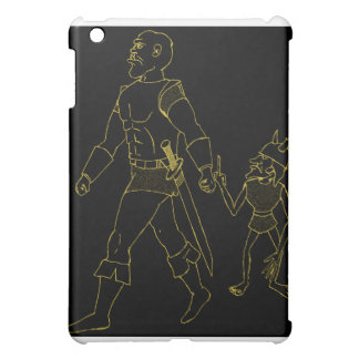 An Orc and Goblin (lined or gold) iPad Mini Covers