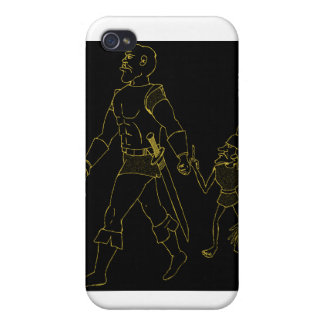 An Orc and Goblin (lined or gold) iPhone 4/4S Case