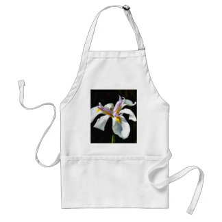 An Orchid With White Petals Adult Apron