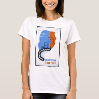 An Orderly Line (Is a Straight Line) - 1942 T-Shirt