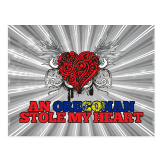An Oregonian Stole my Heart Postcard
