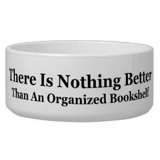 An Organized Bookshelf Bowl