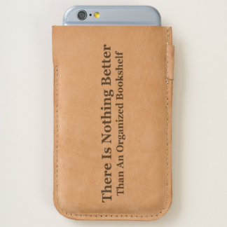 An Organized Bookshelf iPhone 6/6S Case