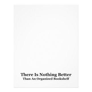 An Organized Bookshelf Letterhead