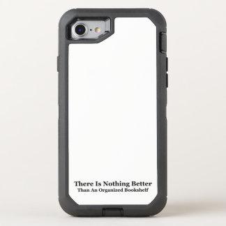 An Organized Bookshelf OtterBox Defender iPhone 7 Case