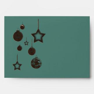 An Ornamental Christmas Envelopes