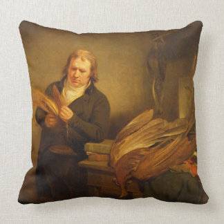 An Ornithologist, probably Mr. Thomson, Animal and Pillows