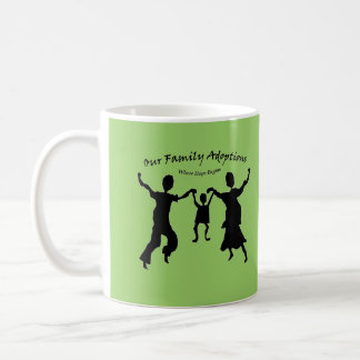 an orphanage is no place for a child coffee mug