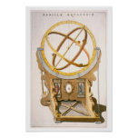 An Orrery designed by Tycho Brahe (1546-1601) from Posters