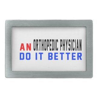 An Orthopedic Physician Do it better Belt Buckle