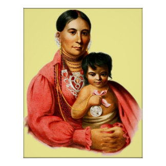 An Osage Woman Poster