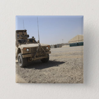An Oshkosh M-ATV 2 Pinback Button