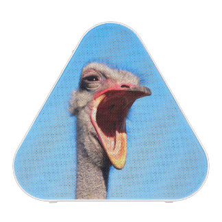 An Ostrich showing aggression Bluetooth Speaker