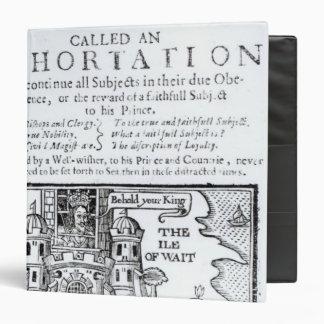 An Ould Ship called an Exhortation' Binder