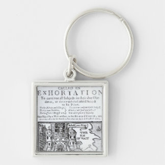 An Ould Ship called an Exhortation' Keychain