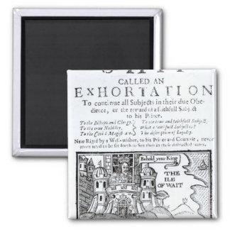 An Ould Ship called an Exhortation' Magnet