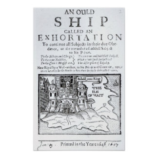 An Ould Ship called an Exhortation' Posters