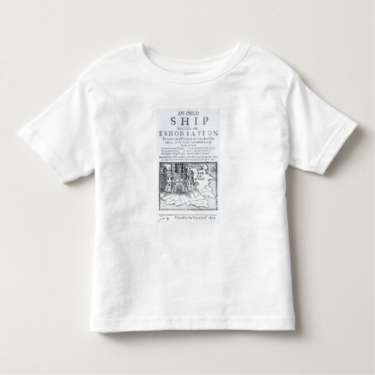 An Ould Ship called an Exhortation' Toddler T-shirt