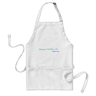An ounce of prevention is worth a pound of cure adult apron