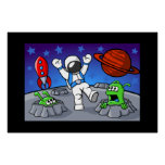 An Outer Space Adventure Print