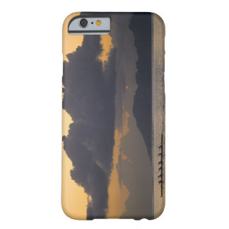 An outrigger canoe team practices off the coast barely there iPhone 6 case