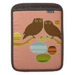 An Owl Couple Sleeves For iPads