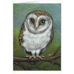 An owl friend by Tanya Bond Greeting Cards