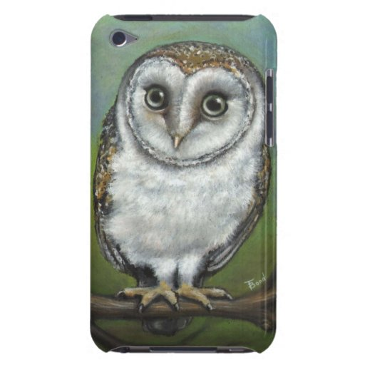 An owl friend by Tanya Bond iPod Case-Mate Cases
