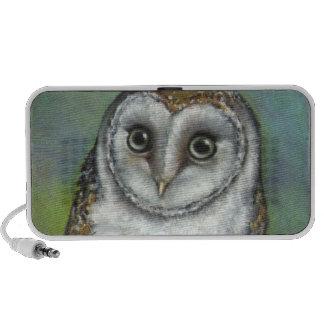 An owl friend by Tanya Bond Mini Speakers