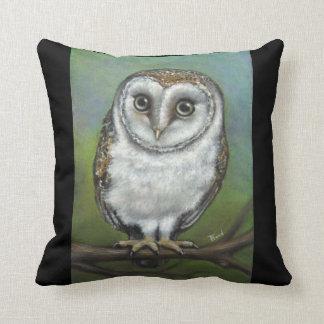 An owl friend by Tanya Bond Throw Pillow