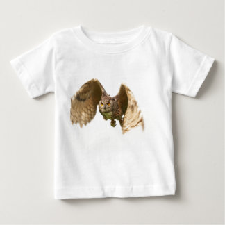 An owl in Flight Infant Tee Shirt