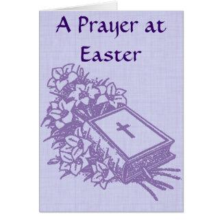 An Prayer at Easter Card