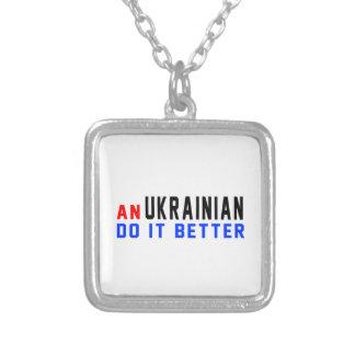 An Ukrainian Do It Better Pendant