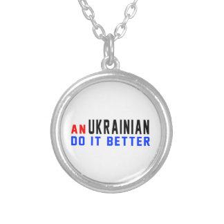 An Ukrainian Do It Better Pendants