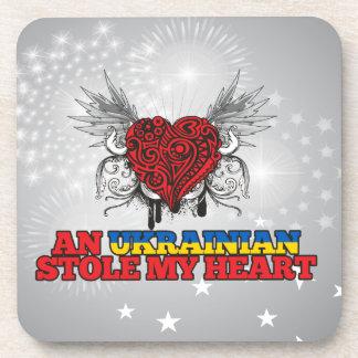 An Ukrainian Stole my Heart Drink Coasters