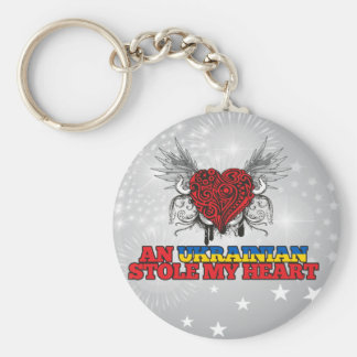 An Ukrainian Stole my Heart Keychain