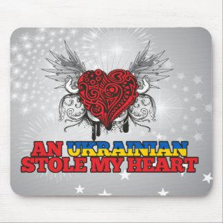 An Ukrainian Stole my Heart Mouse Pad