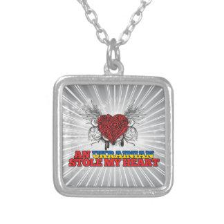 An Ukrainian Stole my Heart Necklace