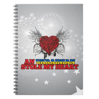 An Ukrainian Stole my Heart Notebook